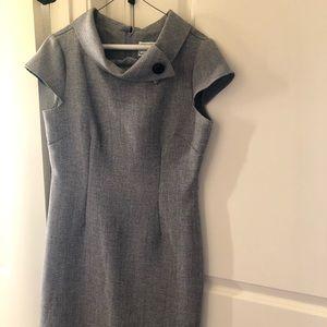 Karen Stevens Size 8 gray dress